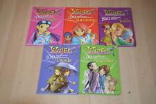 LOT 5 livres Witch - collection 100 idées - Hachette jeunesse