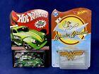 Hot Wheels 2012 Kmart '56 Volkswagen Drag Beetle & Wonder Woman Invisible Jet