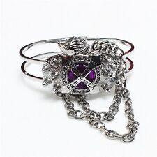 Fashion Anime Hitman Reborn Vongola Famiglia Purple Alloy Bracelet cosplay gift