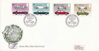 13 OCTOBER 1982 BRITISH MOTOR CARS ROYAL MAIL FIRST DAY COVER BFPO 1789 SHS