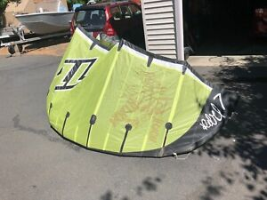 2007 7M north kiteboarding kite with bar lines
