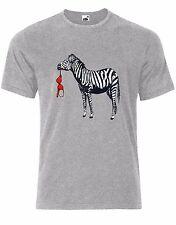 ZeBra Animal Print Mens  T-Shirt Tee Shirt AK35