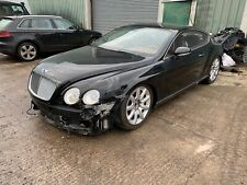2004 Bentley Continental GT LHD left hand drive water damaged spares/repair