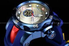 "Invicta 54mm Limited Ed Marvel ""Captain America Venom Automatic Open Heart Watch"