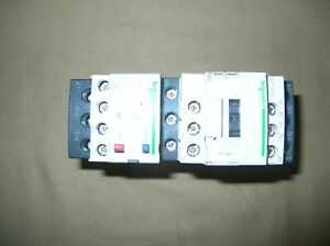 Schneider Electric LC1D12G7 Contactor W/LRD12 Adjustable Thermal Overload 5.5-8A