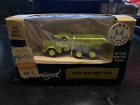 Vintage New In Box. Gibbs Metal Miniatures, Euclid Rear Dump Truck RARE!