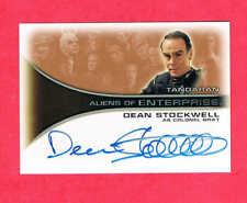 Star Trek Enterprise Dean Stockwell Autograph Card