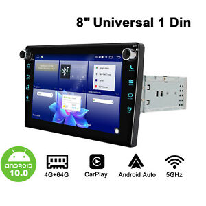 """Android 10.0 Joying 8"""" 2.5D Screen Head Unit With DSP Optical Output 64GB ROM"""