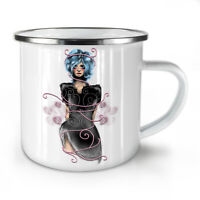 Girl Mystic Being NEW Enamel Tea Mug 10 oz | Wellcoda
