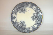 Belmont Flow Blue Plate 7 3/4 inches - JHW & Sons Hanley England - Perfect    #3