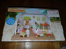 NEW NIB Calico Critters Toy Shop Toys & Gifts Playset 30+ pieces