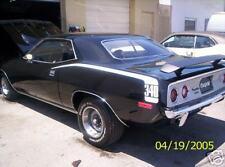 Hockey stick stripes for 1970 1971 1972 1973 1974  Plymouth Barracuda  Cuda