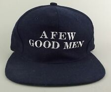 1992 A Few Good Men Baseball Hat Cap Movie Promotional Promo Navy Wool VGUC