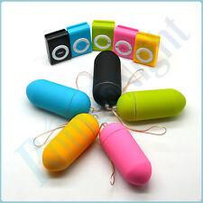 Colorful Portable Wireless Waterproof MP3 Vibrators Remote Control Body FreeShip