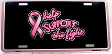 Novelty license plate Cancer awareness New Aluminum auto tag car made in USA5112