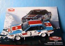 NISSAN 240 RS #3 RALLYE MONTE CARLO 1984 SALONEN HARJANNE IXO 1/43 ALTAYA
