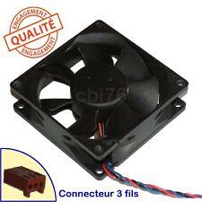 Ventilateur SUNON KD1208PTB3 8CM 8x8x2,5CM 80x80x25MM DC12V 1W 3fils 4vis Q5D