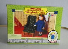 MADELINE'S OLD HOUSE IN PARIS DOLL FURNITURE WING BACK CHAIR EDEN 2000 NIB