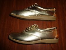 RED CROSS SHOES COMFORT FIT GOLD SHOES WOMENS SIZE 8 M     CUSHEE