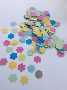 Over 300 Flower Confetti Paper Mothers Day Easter Birthday Table Confetti Shapes