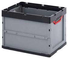 2er Set Faltbox Auer 87 L Aufbewahrungsbox Lagerbox Kunststoffbox Box Kiste Neu