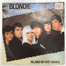 "BLONDIE ISLAND OF LOST SOULS / DRAGONFLY UK 7"" VINYL 45 CHS 2608 BLUE LABELS"
