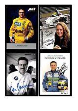 Autogrammsammlung Motorsport Original Signiert ## 3