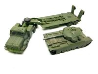 Dinky Supertoys Thornycroft Mighty Antar Army Tank Transporter & Centurion Tank