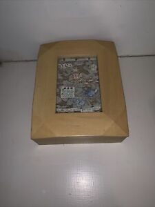 Wooden Box With Picture