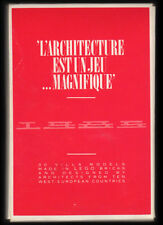 LEGO L'ARCHITECTURE EST UN JEU MAGNIFIQUE 30 Postcard Set Villa Models 1985 RARE