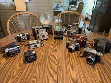 Vintage Cameras -group of Nine