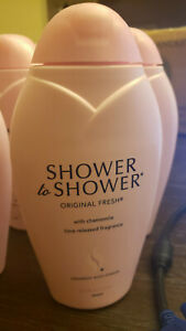 6 = 8oz bottle Shower to Shower Original Fresh with chamomile