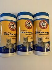 (Pack of 3) Arm & Hammer Litter Pan Cleaner 30 Count
