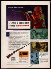 1955 WINCHESTER Model 70 Standard Big Game Rifle of the World AD