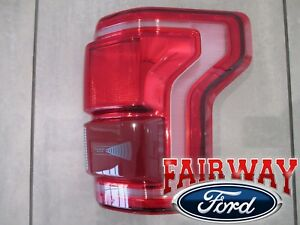 15 thru 17 F-150 OEM Genuine Ford Tail Lamp Light Passenger RH LED w Blind Spot