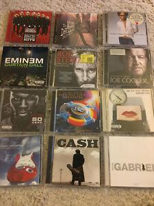 12 x CD-Sammlung, Greatest Hits, Best Of, Peter Gabriel, Dire Straits Joe Cocker