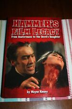 HAMMER FILM LEGACY - AUTOGRAPHED BY AUTHOR WAYNE KINSEY - BRAND NEW!!!!