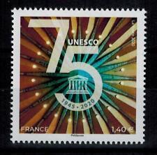 """(b28) timbre France nouveauté année 2020 """"service unesco"""""""