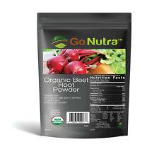 8 oz. Organic Whole Beet Root Powder - Non-Gmo - Pure Beet No Additives