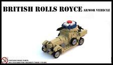 Great War World War I British Rolls-Royce Armoured Car WW1 MOC custom tank UK
