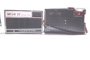 Vintage Wien 22 Pocket Size 8 Transistor Radio  Receiver