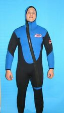 Wetsuit 7MM Medium 2 Piece Mens Farmer John Scuba Dive 8900