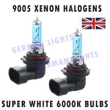 *HB3 SUPER XENON WHITE HEADLIGHT BULBS 6000K AUDI BMW MERCEDES FORD VW FOG 9005