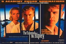 The Talented Mr. Ripley Movie Poster 30x40 Matt Damon Jude Law Gwyneth Paltrow