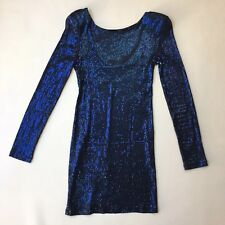 1ffd85f34e Topshop Petite Midnight Blue Sequin Mini Dress