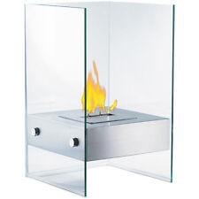Dekofeuer Ethanol: Bio-Ethanol Deko-Feuer im Glaswürfel-Look (Ethanol Kamine)
