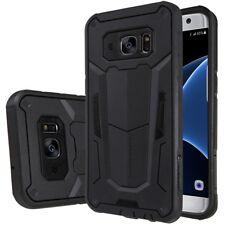 Samsung Galaxy S7 Edge Trekking Handy Tasche Defender II Hülle Cover Bag Schwarz
