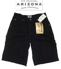 NWT Sz 14 Husky Arizona Black Boy's Cargo Carpenter Shorts 100% Cotton New