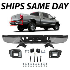 NEW Chrome - Rear Step Bumper Assembly for 2004-2008 Dodge RAM 1500 2500 3500 HD