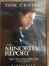 Minority Report (Dvd, 2003) Widescreen Tom Cruise Factory Sealed New